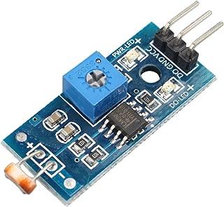HALJIA Digital Light Intensity Sensor Module Photo Resistor Photoresistor Compatible with Arduino UNO