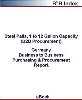 Steel Pails, 1 to 12 Gallon Capacity (B2B Procurement) in Germany: B2B Purchasing + Procurement Values
