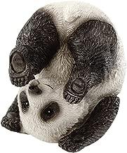Top Collection Miniature Fairy Garden and Terrarium Cute Yoga Panda-Plow Pose Figurine
