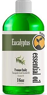 16oz - Bulk Size Eucalyptus Essential Oil (16 Ounce Total) - Therapeutic Grade Essential Oil - 16 Fl Oz Bottle
