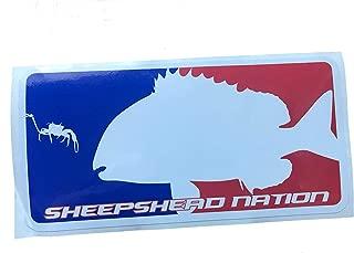 Hunting and Fishing Depot Major League Sheepshead Decal