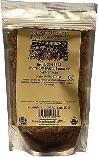 Starwest Botanicals, Organic White Oak Bark, C/S