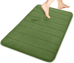 Yimobra Memory Foam Bath Mat Large Size, 31.5 x 19.8 Inches,Soft and Comfortable, Super Water Absorption, Non-Slip, Thick,...