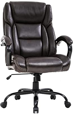 Big and Tall Office Chair 500lbs Wide Seat Desk Chair Ergonomic Computer Chair