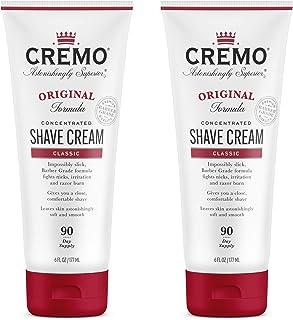 Cremo Barber Grade Original Shave Cream, Astonishingly Superior Ultra-Slick Shaving Cream Fights Nicks, Cuts and Razor Bur...