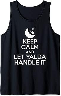 Keep Calm And Let Yalda Handle It Iran Traditional Holiday Tank Top