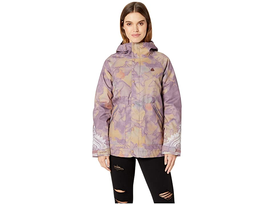Burton Eastfall Jacket (Quartz Camo) Women