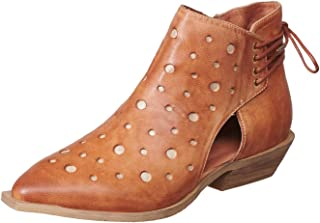 Women's 391 Leather Cutout & Laceup Bootie