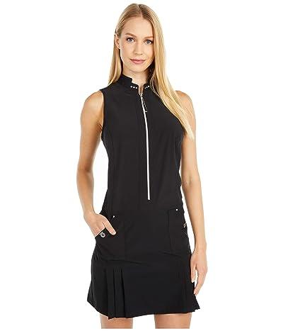 Jamie Sadock Airwear(r) Lightweight Dress with Shortie (Jet Black) Women