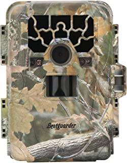 Image of Peojek Bestguarder Trail Camera, 12MP 1080P Hunting Game Cameras with Night Vision Waterproof, 2 inch Screen Wildlife Camera for Wildlife Monitoring and Home Security