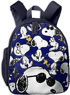 Mochila escolar Snoopy Cool Boy Girl universal de lona bolsa de viaje