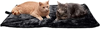 Furhaven Pet Dog Bed Heating Pad | ThermaNAP Quilted Faux Fur Insulated Thermal Self-Warming Pet Bed Pad for Dogs & Cats, ...