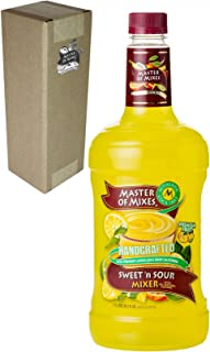 Master of Mixes Sweet N' Sour Drink Mix, Ready To Use, 1.75 Liter Bottle (59.2 Fl Oz), Individually Boxed