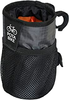 POTA BIKE(ポタバイク) ハンドルセンターポーチ ブロンプトン用ドリンクホルダー/小物入れ