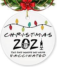 2021 Christmas Ornaments Quarantine, Touber 2021 Christmas Ornaments 2021 Personalized Christmas Ornament 2021 Pandemic Ch...