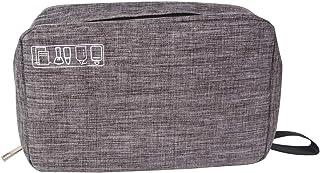 حقيبة معلقة لأدوات الزينة للسفر مقاومة للماء من تيك إك، حقيبة محمولة لأدوات التجميل للإكسسوارات، شامبو، حاوية كاملة الحجم،...