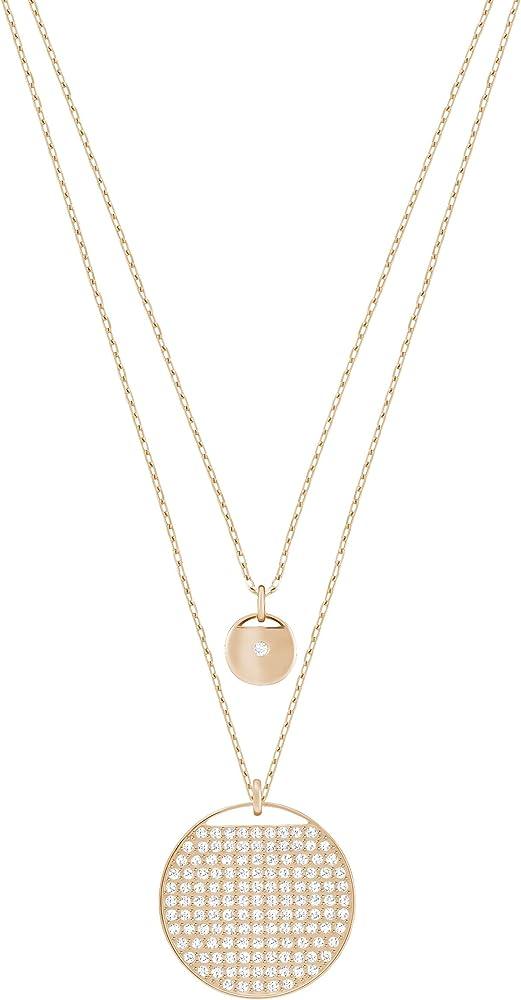 Swarovski pendente stratificato ginger placcato oro rosa 5253286