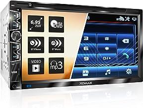 """XOMAX XM-2D6907 Autoradio mit Mirrorlink für Android I kapazitiver 6,9"""" / 17,5 cm.."""