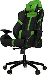 VERTAGEAR S-Line 5000 Gaming Chair, Large, Black/Green
