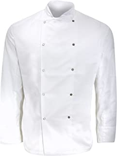 Denny's Mens Long Sleeve Chefs Jacket/Chefswear (Pack of 2)