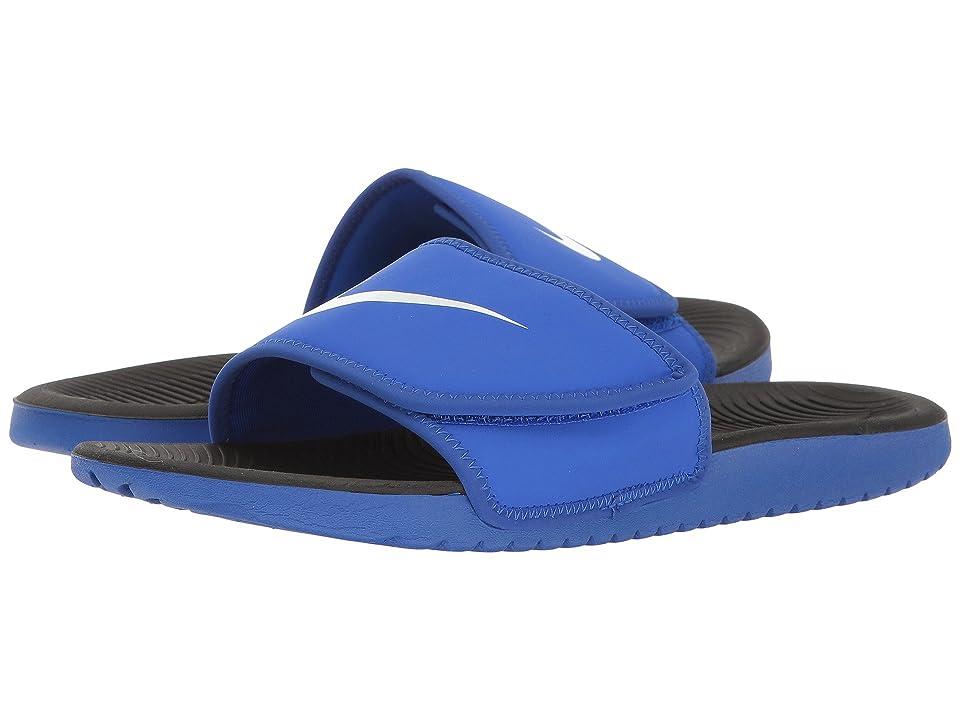 Nike Kids Kawa Adjust (Little Kid/Big Kid) (Racer Blue/White) Boys Shoes