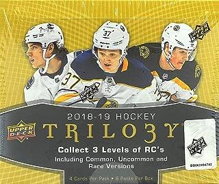 2018/19 Upper Deck Trilogy NHL Hockey box (8 pk)