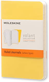 Moleskine Volant Journal Rule XS, Sunflower/Brass Yellow (8051272890334)
