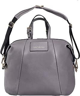 SoHo Olympia 3-in-1 Vegan Leather Diaper Bag Backpack 4pc