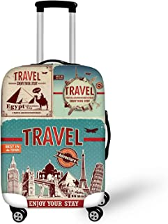 Bigcardesigns Cool Travel Luggage Protective Covers for 22