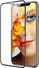 "Bovon Protector Pantalla para iPhone 11 Pro MAX, [Marco Instalación Fácil] [Dureza de 9H] [A Prueba de Arañazos] Cristal Templado Completa de Cobertura Total 3D para iPhone 11 Pro MAX, 6.5"" (2019)"