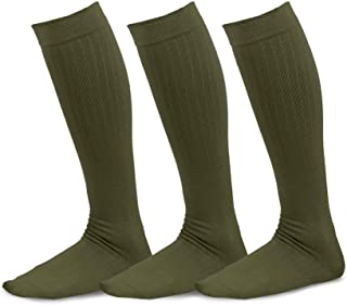 TeeHee Athletic Sports Functional Compression Multi Pair Assorted Scoks