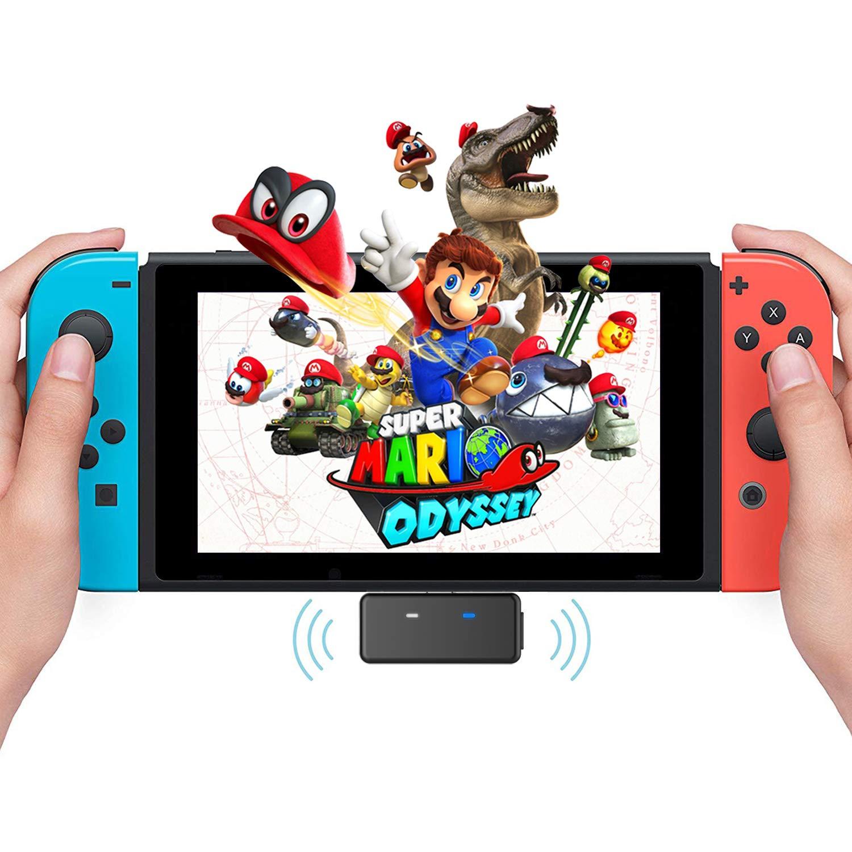 Nintendo - Transmisor Bluetooth Adaptador de Audio para Nintendo ...