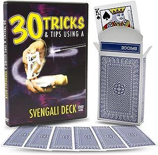 Magic Makers 30 Tricks & Tips with a Svengali Deck DVD, Incl