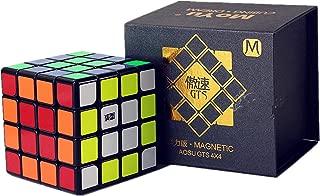 Liangcuber Moyu Aosu GTS M 4x4 Black Speed Cube Moyu Aosu GTS Magnetic 62mm Cube Puzzle