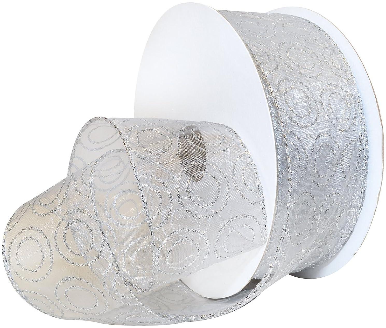 Morex Ribbon Wired Polyester Jupiter Ribbon, 2-1/2