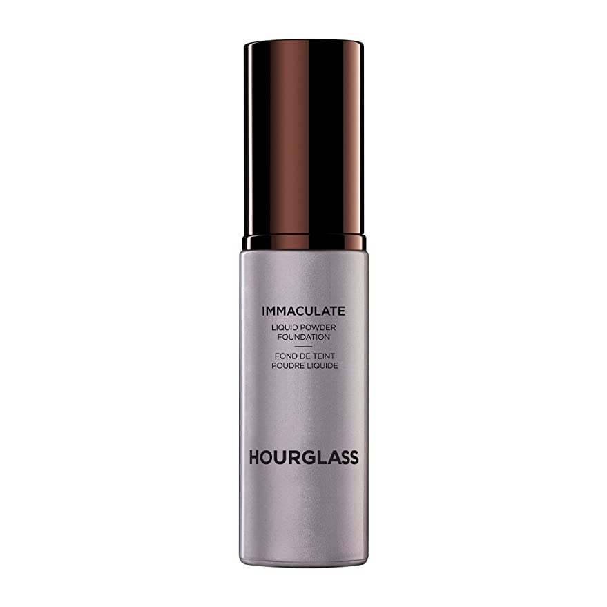描くオーブンベーコンHourglass Immaculate? Liquid Powder Foundation Mattifying Oil Free - Nude