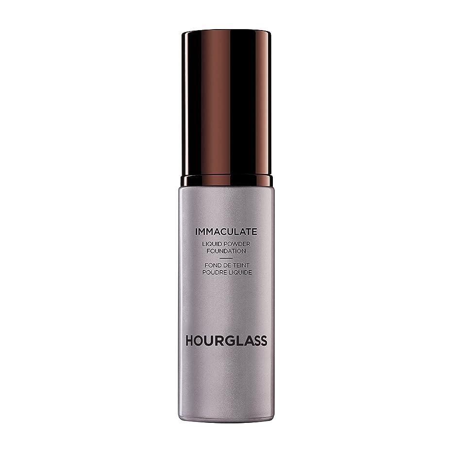 やりがいのある保存協力的Hourglass Immaculate? Liquid Powder Foundation Mattifying Oil Free - Sand