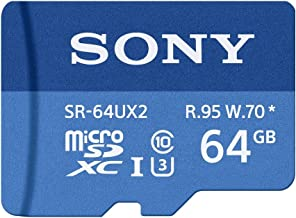 Sony L50W Cell Phone Memory Card 2 x 128GB microSDHC Memory Card with SD Adapter