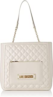 64aed84021 Love Moschino Borsa Quilted Nappa PU, Sac à bandoulière Femme, 11x29x35  Centimeters (W