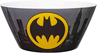Zak Designs DC Comics Kids' Soup Bowl, Made with Durable Melamine Material Perfect Dinnerware for Indoor/Outdoor Activitie...