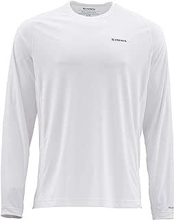 Simms Solarflex UPF 50+ Graphic Crewneck Shirt – Long Sleeve Sun Protection Fishing Shirt for Men – Lightweight, Breathable, Moisture Wicking & Anti Odor