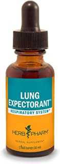 Herb Pharm Lung Expectorant Liquid Herbal Formula to Support Respiratory Immune Response - 1 Ounce (Pack of 1)