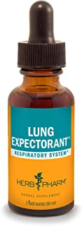 Herb Pharm Lung Expectorant Liquid Herbal Formula to Support Respiratory Immune Response - 1 Ounce