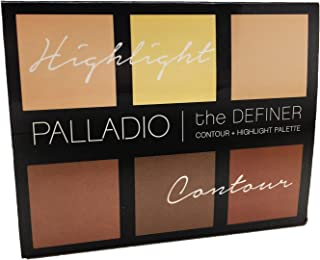 Palladio The Definer Contour plus Highlight Palette Luminous 0. 64 Ounce