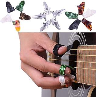 TYKusm - Púas de dedo para guitarra (15 unidades), color al azar