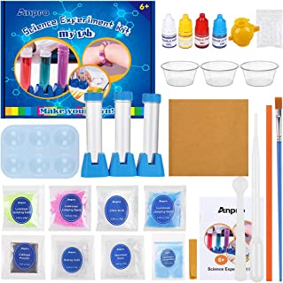 Anpro Science Experiment Kit for Kids, Children's Scientific Experiment kit STEM Education, with 15 Scientific Experiments...