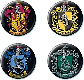 Ata-Boy Harry Potter Crests Set of 4 1.25