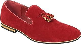 Amazon.es: mocasines rojos