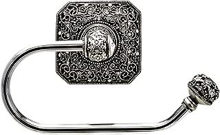 Carpe Diem Hardware 4057-9C Juliane Grace Tissue Holder Right Made with Swarovski Crystals, Chalice