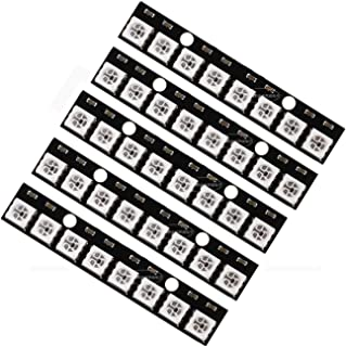 8 Channel WS2812 WS2812B 5050 RGB 8-Bit Light Strip Driver Board for Arduino - 5Pcs Set